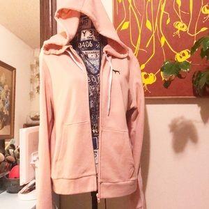 PINK Victoria's Secret Breakaway Zip-up Hoodie